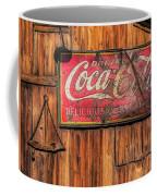 Coca Cola Barn Coffee Mug