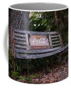 Coca Cola Bench Coffee Mug