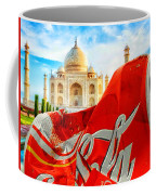 Coca-cola Can Trash Oh Yeah - And The Taj Mahal Coffee Mug