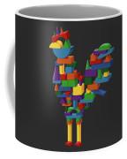 Cock Block Farm Rooster Coffee Mug