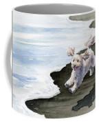 Cockapoo At The Beach Coffee Mug