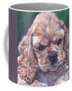 Cocker Spaniel Puppy Coffee Mug by Lee Ann Shepard
