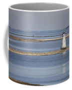 Cockspur Island Lighthouse With Jetty Coffee Mug