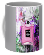 Coco Chanel Parfume Pink Coffee Mug