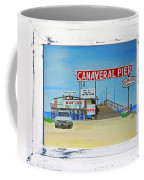 Cocoa Beach/cape Canaveral Pier Coffee Mug