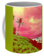 Coconut Palm Makai For Pele Coffee Mug