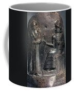Code Of Hammurabi (detail) Coffee Mug by Granger