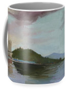Coeur D Alene Lake    North  Idaho Coffee Mug
