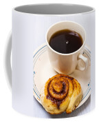 Coffee And Breakfast Roll Coffee Mug