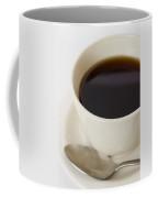 Coffee Cup On Saucer With Spoon Coffee Mug