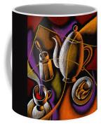 Coffee Coffee Mug by Leon Zernitsky