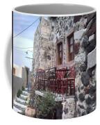 Coffee Shop In Santorini Coffee Mug