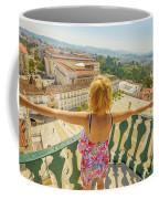 Coimbra Aerial Woman Coffee Mug
