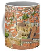 Coimbra Cathedral Aerial Coffee Mug