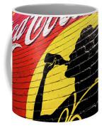 Coke Girl Silhouette  Coffee Mug