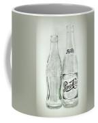 Coke Or Pepsi Black And White Coffee Mug