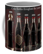 Coke Through Time Coffee Mug