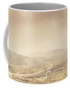 Cold Winter Landscape On Cradle Mountain Tasmania Coffee Mug