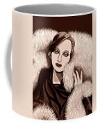 Colette In Sepia Tone Coffee Mug