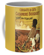 Colgate Cashmere Bouquet Advertising Poster Coffee Mug