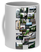 Collage Ithaca College Ithaca New York Vertical Coffee Mug