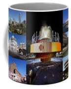 Collage Of Tel Aviv Israel Coffee Mug