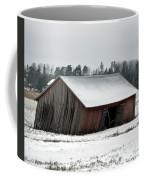 Collapsing Barn Coffee Mug