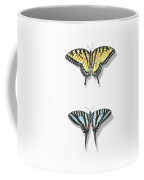 Collection Of Two Butterflies Coffee Mug
