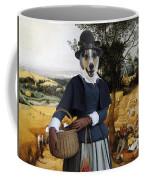 Collie Smooth - Smooth Collie Art Canvas Print - The Harvesters Coffee Mug