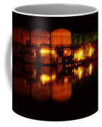 Colonial Beach Docks After Dark Coffee Mug