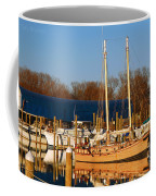 Colonial Beach Docks Coffee Mug
