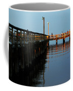 Colonial Beach Town Pier Coffee Mug