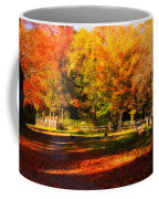 Colonial Fall Colors Coffee Mug