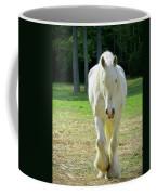 Colonial Horse In Williamsburg Coffee Mug