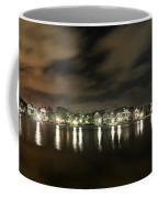 Colonial Lake At Night Coffee Mug