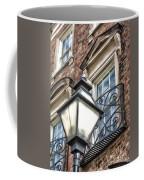 Colonial Lamp And Window Coffee Mug