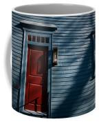 Colonial Red Door Newport Rhode Island Coffee Mug