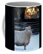 Colonial Sheep In Winter Coffee Mug