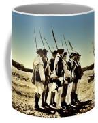 Colonial Soldiers Standing At Attention Coffee Mug