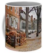 Colonial Street Scene Coffee Mug