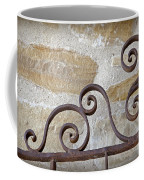 Colonial Wrought Iron Gate Detail Coffee Mug