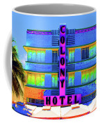 Colony Hotel Palm Coffee Mug