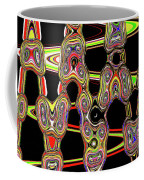 Color Circles Abstract Coffee Mug