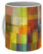 Color Collage With Green And Red 2.0 Coffee Mug by Michelle Calkins