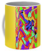 Color Drawing Abstract #3 Coffee Mug