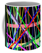 Color Lines Variety Background Coffee Mug