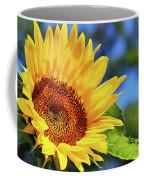 Color Me Happy Sunflower Coffee Mug