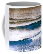 Color Movement-blue And Beige Coffee Mug