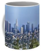 Color Pano Los Angeles California  Coffee Mug
