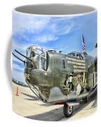 Color Side Wwii B-24j Coffee Mug